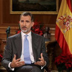 King Felipe of Spain urges Catalans to choose coexistence over confrontation