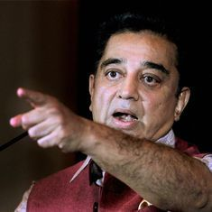 'Hope Rajinikanth's colour is not saffron,' says Kamal Haasan on allying with him