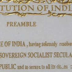 The BJP is wrong: Merely removing the word 'secular' from the Constitution won't make it any less so