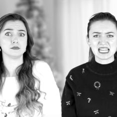 Watch: When even Christmas carols find it easier to be funny than to be cheerful about 2017