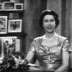 Watch: It was 60 years ago that Britain's Queen Elizabeth II gave her first  Christmas speech on TV