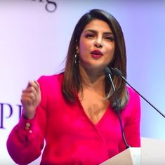 Priyanka Chopra had a packed audience at the Penguin lecture but the real commotion was on Twitter