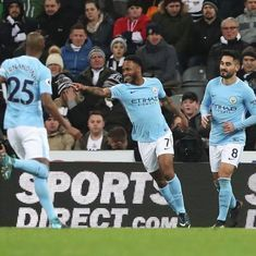 Manchester City beat Newcastle to register 18th consecutive win, move 15 points clear