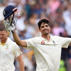 Alastair Cook is not an eye-catching batsman but he has been a mightily effective one
