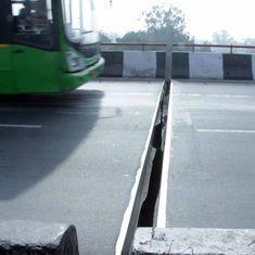 Delhi: Commuters asked to avoid Ashram-Lajpat Nagar flyover after gap appears between girders
