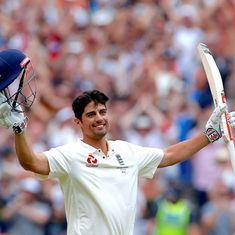 Alastair Cook's unbeaten 154 puts England Lions in the driver's seat against India A