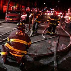 अमेरिका : न्यू यॉर्क के एक अपार्टमेंट में आग लगने से 12 लोगों की मौत