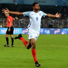 Uefa 'don't care' about racism, says England Under-17 World Cup star Rhian Brewster