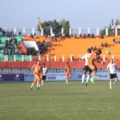 Neroca score late goal to get a point against East Bengal, go third in I-League table