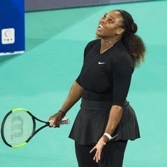 Beaten on comeback, Serena Williams unsure about defending Australian Open