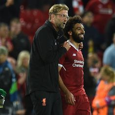 Neither Salah nor I are bothered about his lack of goals, says Liverpool manager Klopp