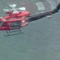 Australia: Six killed after seaplane crashes into river near Sydney