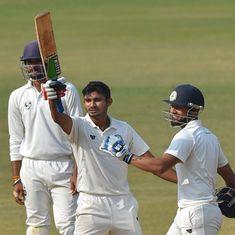 Ranji Trophy final: Akshay Wadkar smashes his first-ever ton as Vidarbha inch closer to title