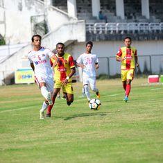 I-League: Clinical Aizawl beat Gokulam 2-0 to grab full away points