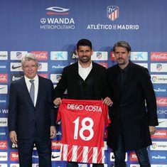 Diego Costa marks return to Atletico with a goal against Lleida Esportiu in Copa Del Rey