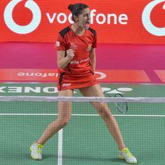 PBL: Delhi Dashers crush Hyderabad Hunters despite Carolina Marin's stunning win