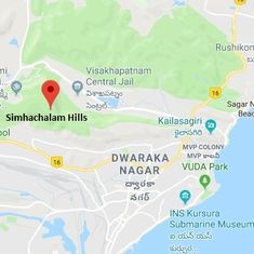 Visakhapatnam: Navy helps rescue six trekkers lost in Simhachalam Hills