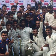 सात बार की चैंपियन दिल्ली को हराकर विदर्भ ने पहली बार रणजी ट्रॉफी पर कब्जा जमाया