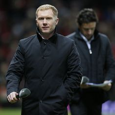 Former Manchester United midfielder Paul Scholes accepts FA's charge for breaking betting rules