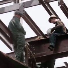 Watch: These are the men who risked their lives to build New York's iconic skyscrapers