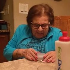 Watch an 85-year-old woman's extraordinary first encounter with Google Home