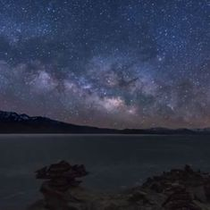 This video of the sky over Ladakh will put you back in touch with the stars and the clouds