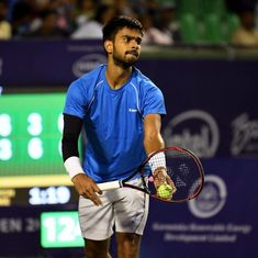 Sumit Nagal, Saketh Myneni bow out in first round of Chennai Open Challenger