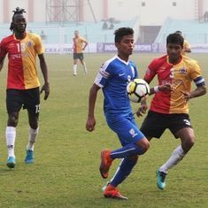 I-League: Indian Arrows go down to East Bengal as Mahmoud Al-Amna, Katsumi Yusa score