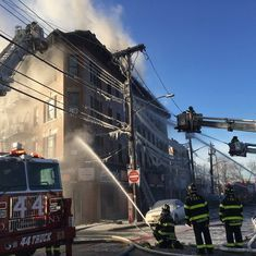New York: At least 16 injured in fire at Bronx borough