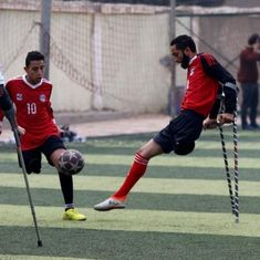 Video: Disabled football players in Egypt are hoping to start the nation's first amputee league