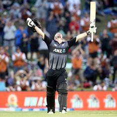 New Zealand's Colin Munro becomes first batsman to score three T20I hundreds