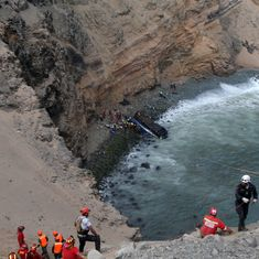 Peru: 48 people killed after bus falls off cliff near Lima