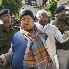 Fodder scam: Lalu Prasad Yadav sentenced to 14 years in prison in Dumka treasury case