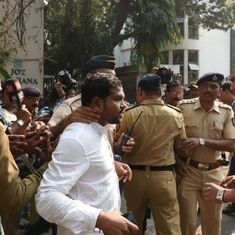 Day after Mumbai protests, police bar Jignesh Mevani, Umar Khalid from speaking at a student event