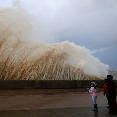 Three people killed as Storm Eleanor batters western Europe