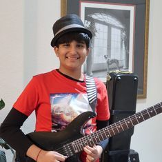 Video: The Indian-American wonder kid who can play 44 musical instruments