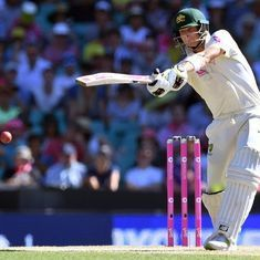 Smith becomes second fastest to reach 6000 runs as England bowlers toil for another day