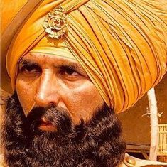 Akshay Kumar is battle-ready in the first look of 'Kesari'