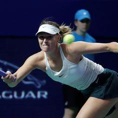 Sharapova loses to defending champion Katerina Siniakova in Shenzhen Open semi-finals
