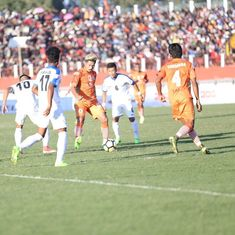 I-League: Subash Singh double helps Neroca beat Indian Arrows 2-1