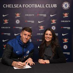 Chelsea make first winter transfer as Everton midfielder Ross Barkley is signed