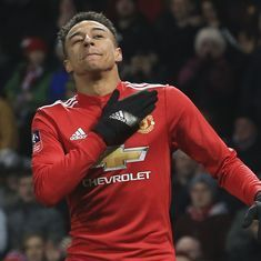 FA Cup: Jesse Lingard and Romelu Lukaku strike late to take Manchester United past Derby