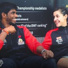 Watch: The lighter side of Carolina Marin, Sai Praneeth and Satwiksairaj