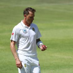 'I haven't saved myself just to take one more wicket': Steyn looks beyond breaking Pollock's record