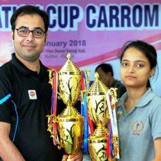 Carrom: Mohd. Ghufran, Kajal Kumari bag Federation Cup titles