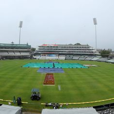India v South Africa, first Test, day 3 as it happened: Play called off due to rain