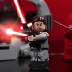 Watch: This LEGO remake of a key scene from the latest 'Star Wars' film may beat the original