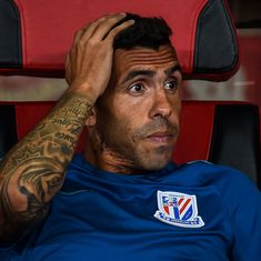 'I was on vacation for seven months': Carlos Tevez on Chinese Super League stint