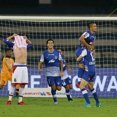 ISL: Chhetri's sensational goal against ATK takes Bengaluru FC to the top of the table
