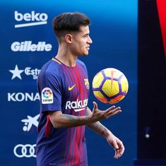 Philippe Coutinho's Barcelona debut delayed due to thigh injury